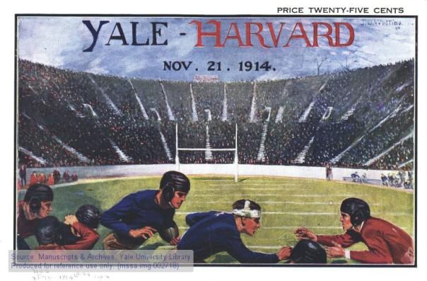 Yale-Harvard program cover